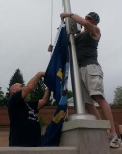 don & roy vets flag
