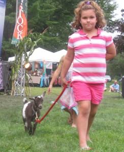 girl goat