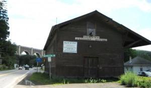Nich RR station and bridge