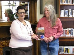 donna at Wyalusing Library
