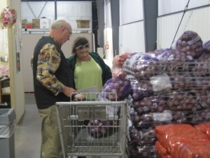 food bank couple